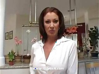 Blonde Mom Takes On A Huge Dick and Cums