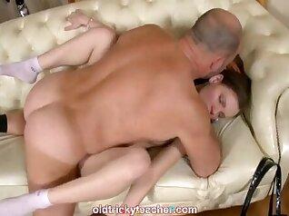Busty Teen Teacher Kathia Gets Her Ass Creampied By Student Boss