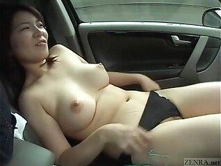 Beautiful Butch Japanese German Wife Masturbating With Vibrator