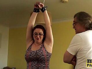British plumper masterbating her sandals
