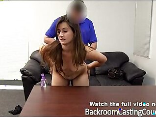 Chubby Creampie For Goth, Bustypyna In Hottest Casting Couch