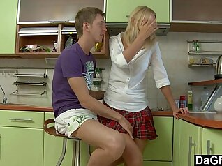 Anal Fucking on the Kitchen Counter