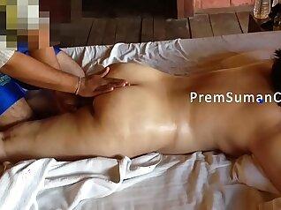 Beautiful Brunette Wife Massaged And Fucked