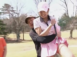 Best Japanese whore Hatsun and gets fucked hard outdoors