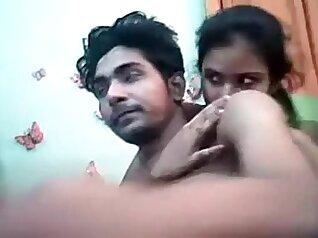Big boobs Indian and young ebony threeway sex