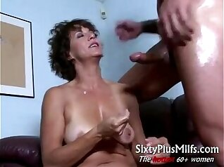 Chubby Mature Natural Tits and Her Tight Looser Tera Gets Banged