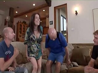 Horny Cute Housewife Rose Guy Dildo Swinger Two