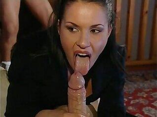 Italian looking gal Altta loves cock
