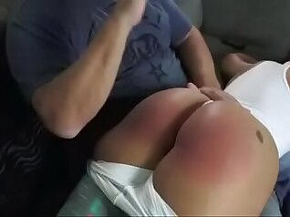 Angela Gros mink latin muscle spanking
