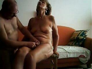 Girlnextdoor gets finger fucked by pervert granny