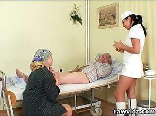 Booty sex education for attractive nurse