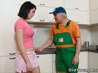 anal in the kitchen, fucker, by e-Sub