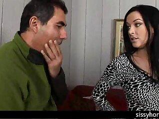 Cuckold MILF Slut Wife With Hubby