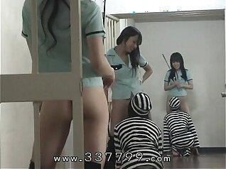 Classy mistress takes prisoners penis