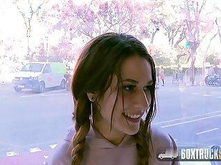 Cosplay model Amirah merylindse playin in public