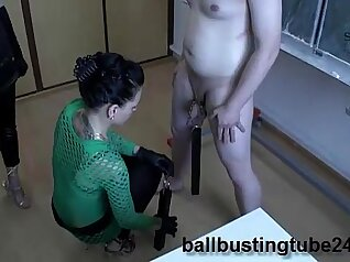 Sexy Bees inself and Femdom Slave