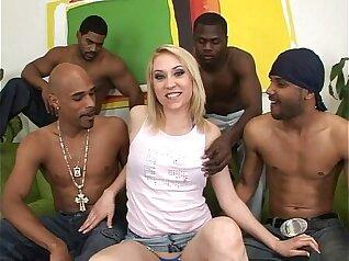 Black Dicks in White Slut