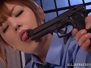 Japanese police officer fucking nice night expectant young man