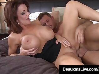 Busty Mama Suck And Fuck With Young Cock