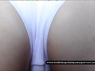 British Babe In White Pantie Girl